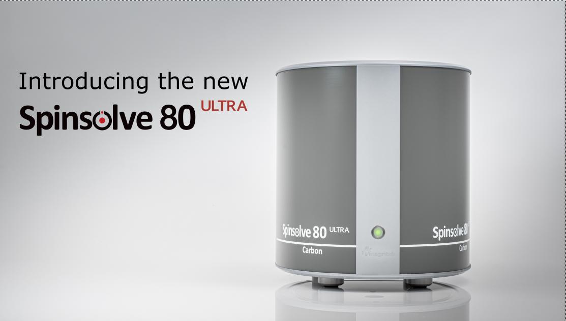 Spinsolve 80 ultra header - cut